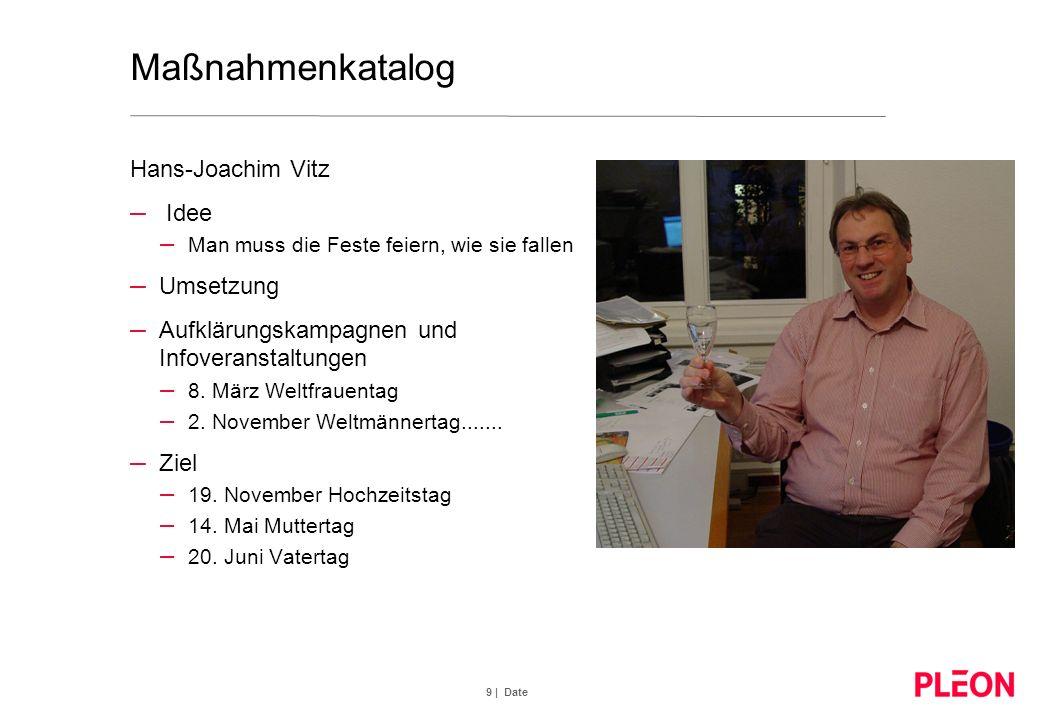 9 | Date Maßnahmenkatalog Hans-Joachim Vitz – Idee – Man muss die Feste feiern, wie sie fallen – Umsetzung – Aufklärungskampagnen und Infoveranstaltun