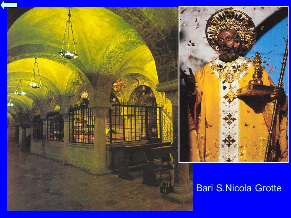 Bari S.Nicola Grotte