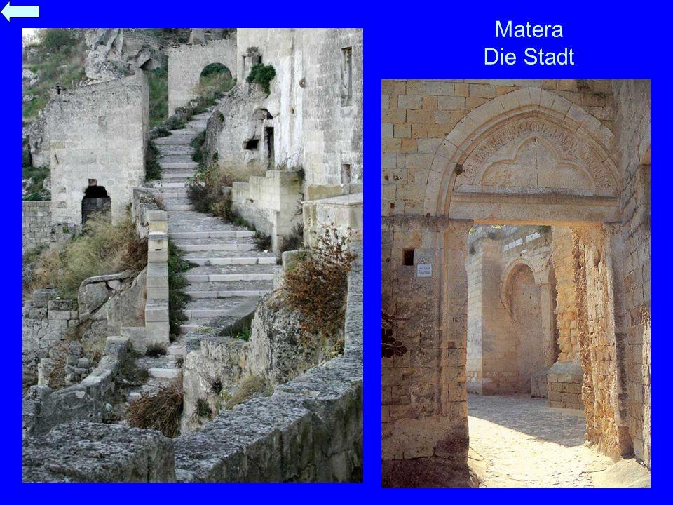 Matera Die Stadt