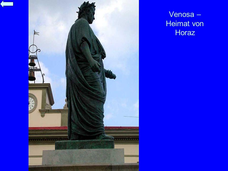 Venosa – Heimat von Horaz