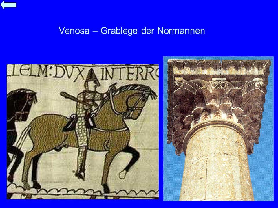Venosa – Grablege der Normannen
