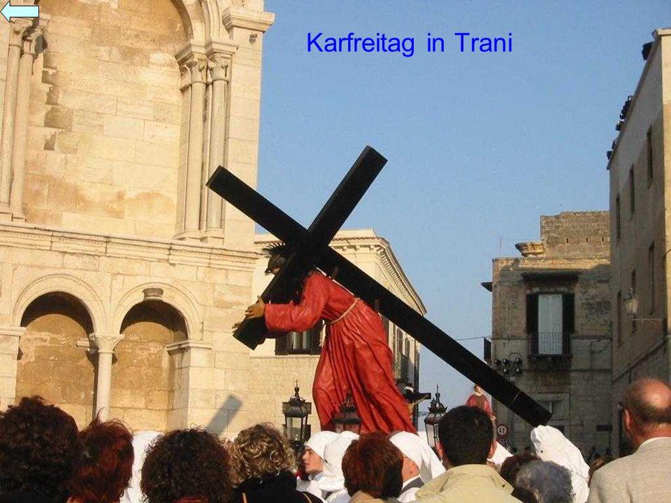 Karfreitag in Trani