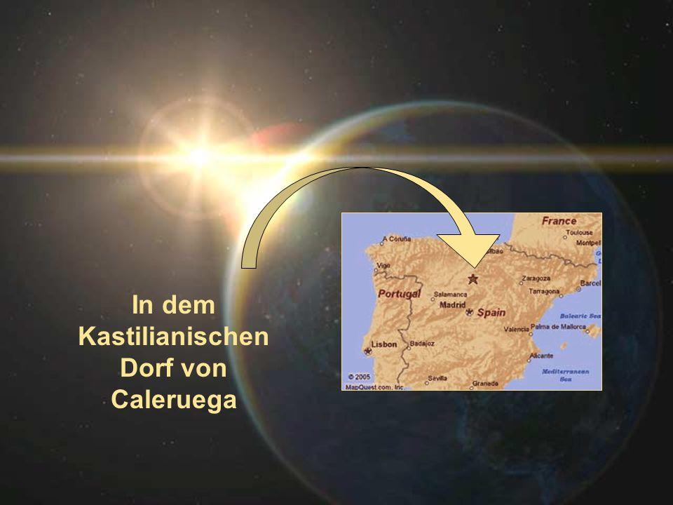 In dem Kastilianischen Dorf von Caleruega