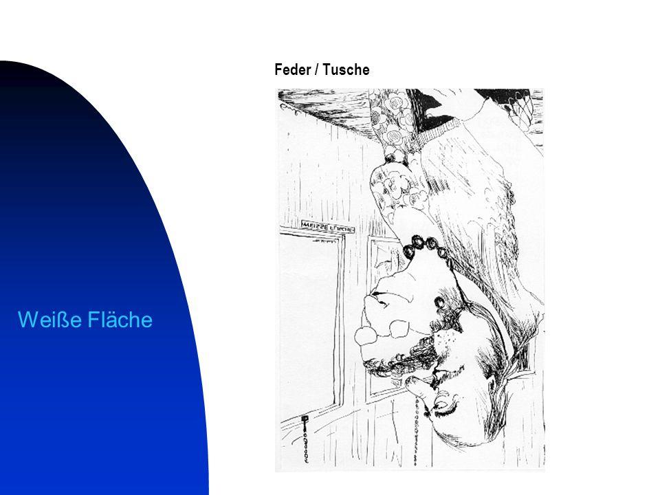 Änderungsschneiderei Feder / Tusche / Aquarell