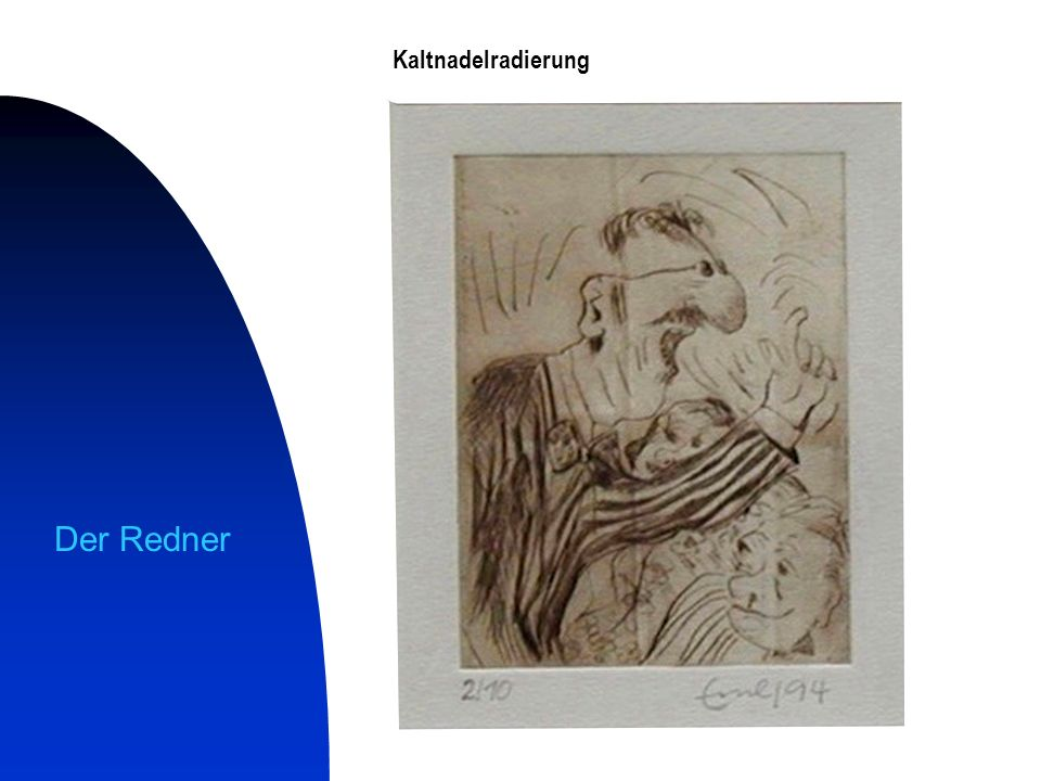 Kaltnadelradierung alle Kaltnadelradierungen sind Kunsthanddrucke auf handgeschöpftem Bütten Streitgespräch