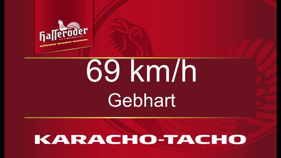 69 km/h Gebhart