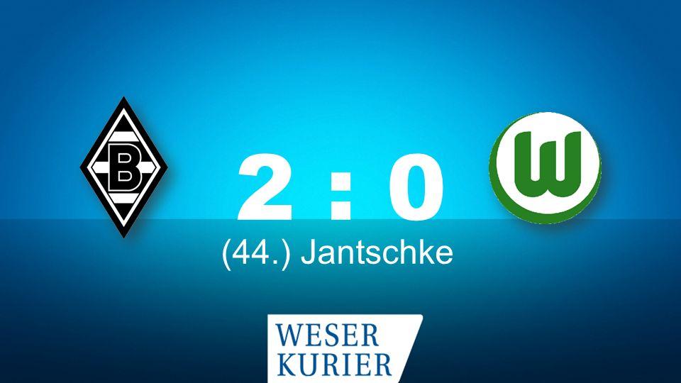Weserkurier Ergebnisdienst 2 : 0 (44.) Jantschke