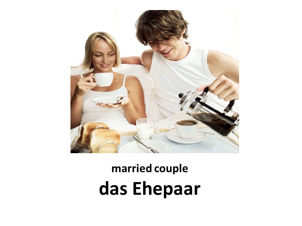 married couple das Ehepaar