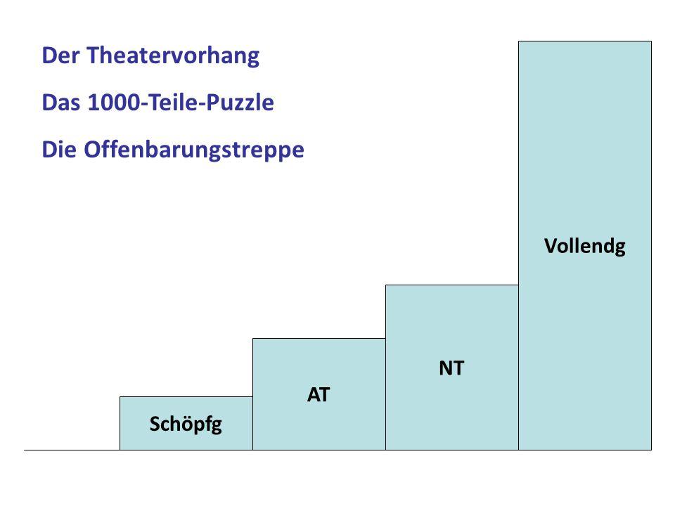 Schöpfg AT NT Vollendg Der Theatervorhang Das 1000-Teile-Puzzle Die Offenbarungstreppe