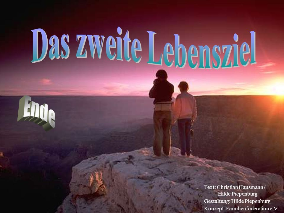 Text: Christian Hausmann / Hilde Piepenburg Gestaltung: Hilde Piepenburg Konzept: Familienföderation e.V.