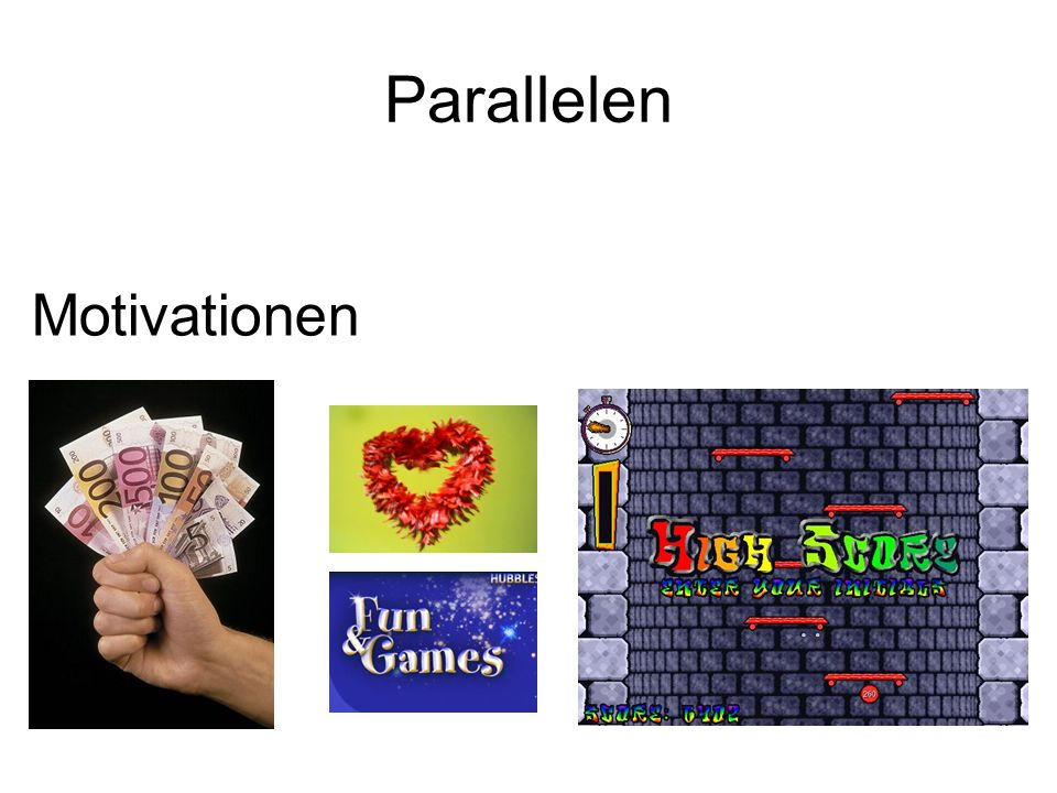 Parallelen Motivationen