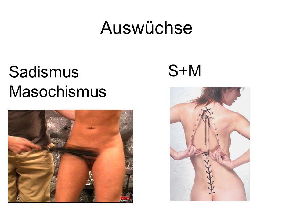 Auswüchse Sadismus Masochismus S+M