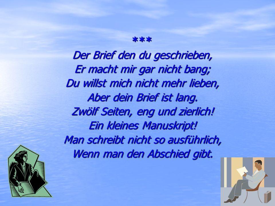 Heinrich Heine (1797-1856) Der berühmte deutsche Dichter, Lyriker. Studierte Rechte in Berlin. Sein Buch der Lieder war ein Welterfolg. Seine Gedichte
