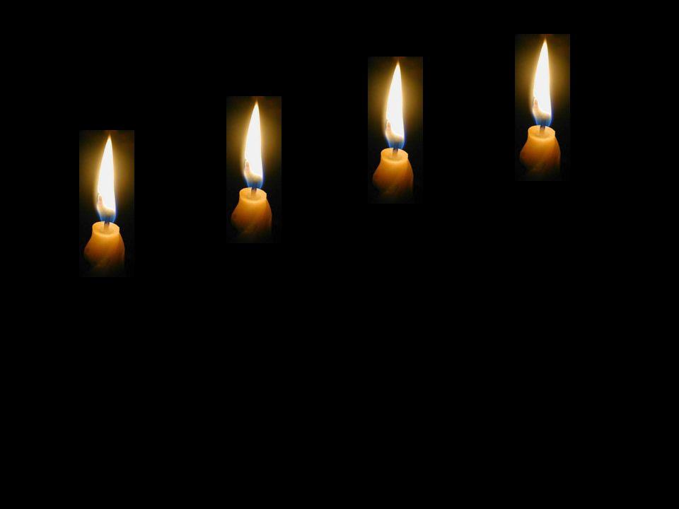 Die vier Kerzen - oder - Friede – Glaube – Liebe – Hoffnung