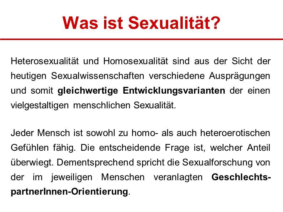 Was ist Sexualität.