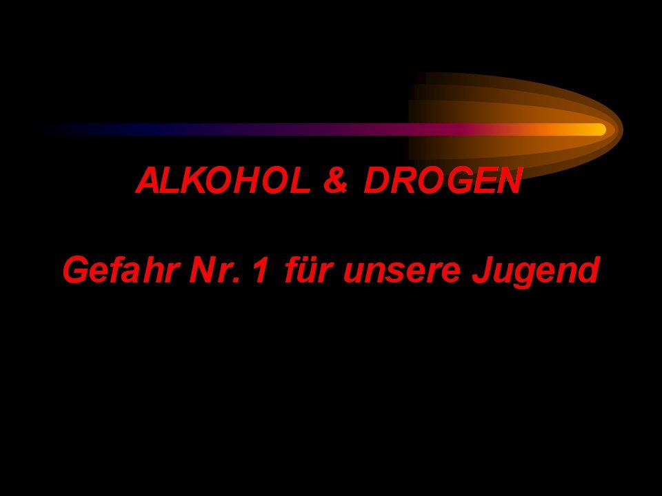 AUSWEGE AUS DER SUCHT Ein Vortrag über die Auswirkungen von Drogen und Alkoholsucht, den Umgang mit Drogenabhängigen und Heilungsmöglichkeiten