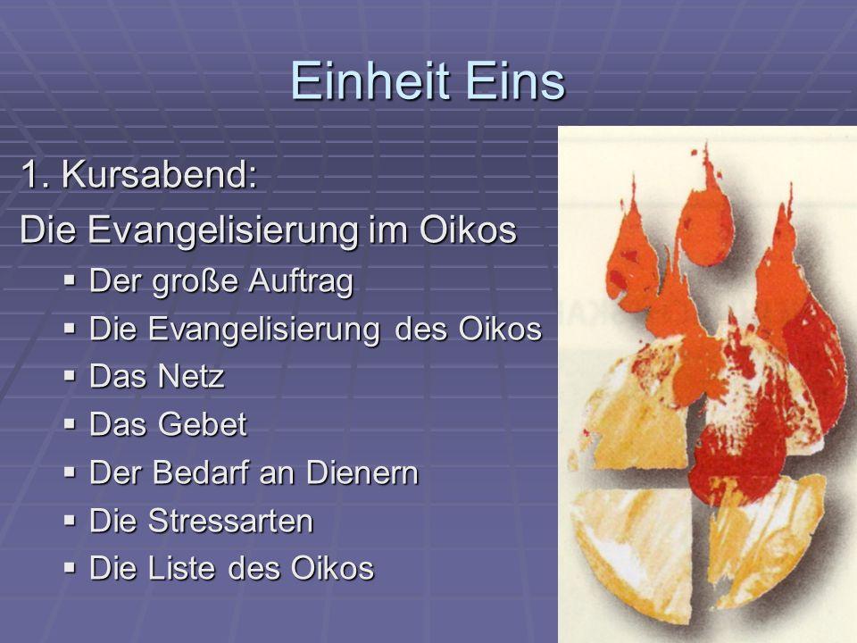 Der Auftrag Jesu Geht hinaus in die ganze Welt und verkündet das Evangelium allen Geschöpfen.