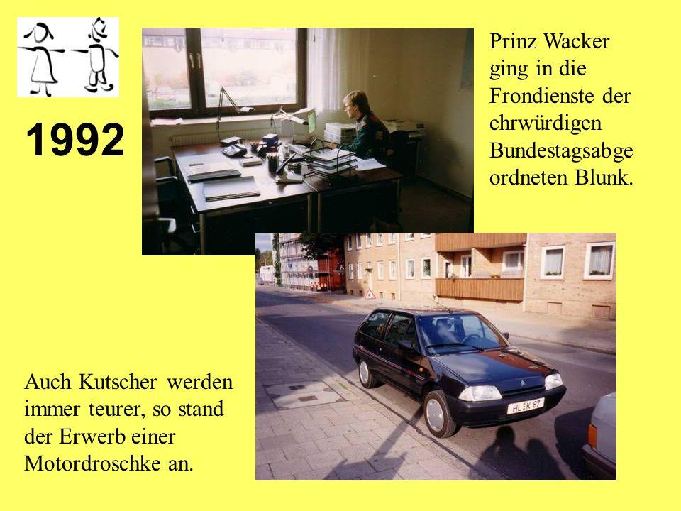 1991 Prinzessin Tausendschön bot sich ein neues Königreich in der Schönböckener Straße.