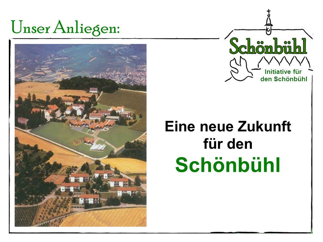 Initiative für den Schönbühl 140 Jahre Schönbühl Geschichtlicher Überblick ab 1865 - Nutzung des Schönbühl als Rettungsanstalt