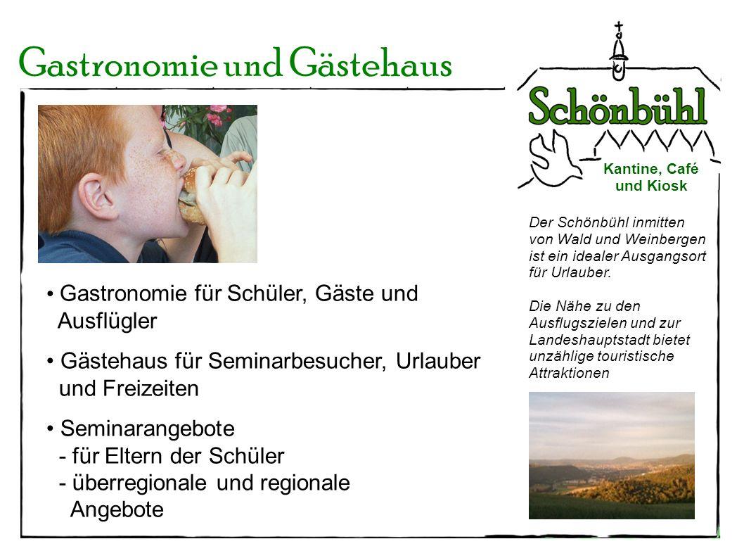 Der Schönbühl inmitten von Wald und Weinbergen ist ein idealer Ausgangsort für Urlauber. Die Nähe zu den Ausflugszielen und zur Landeshauptstadt biete