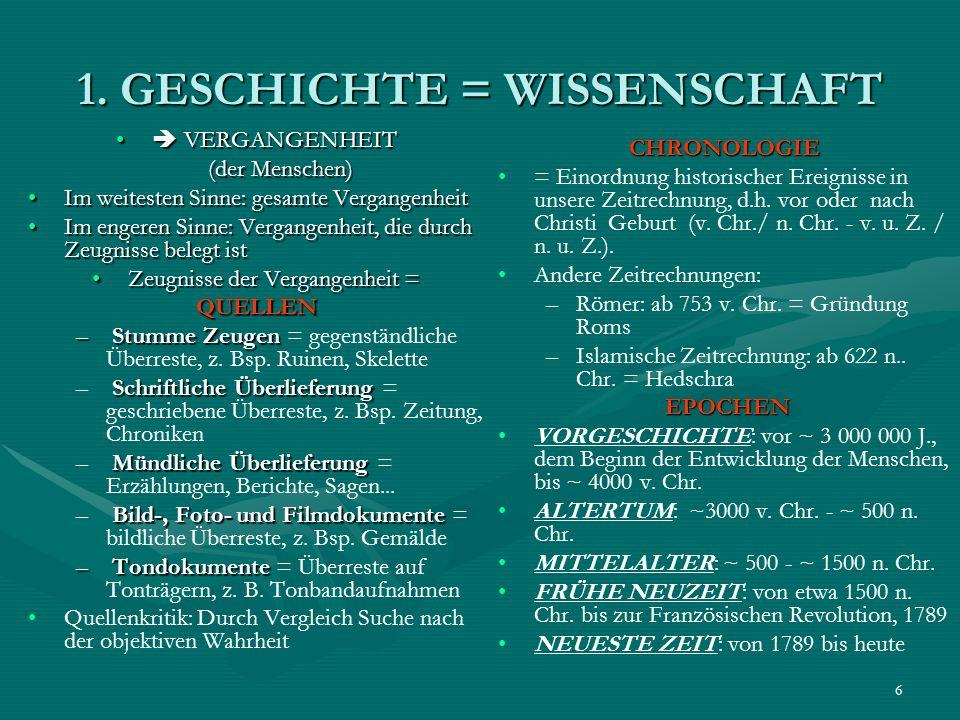 27 3.5.2 ROM: VOM STADTSTAAT ZU EINEM WELTREICH – Die Kaiserzeit