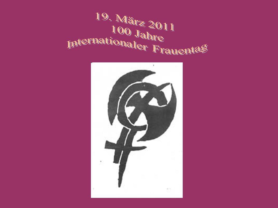 Am 27.August 1910 fand die 2. Internationale Sozialistische Frauenkonferenz in Kopenhagen statt.