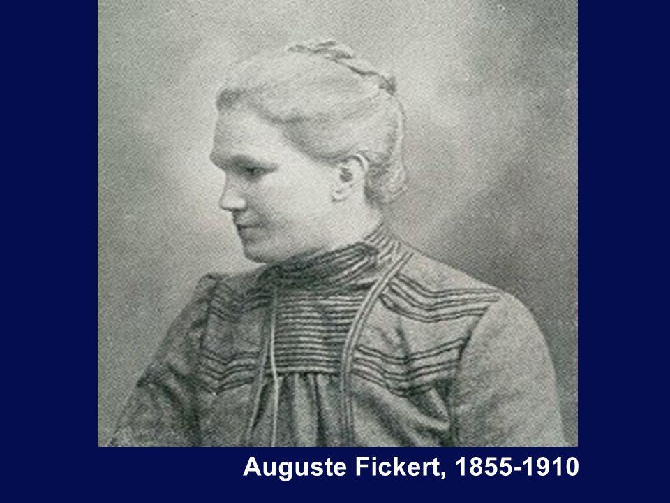 Auguste Fickert, 1855-1910