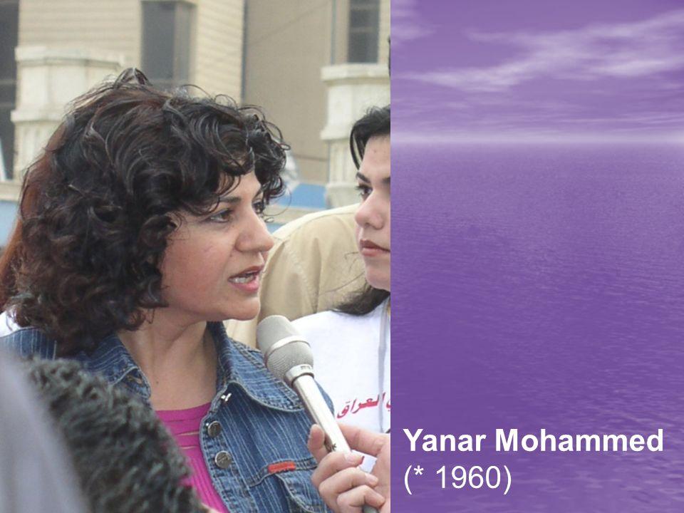 Yanar Mohammed Yanar Mohammed (* 1960)