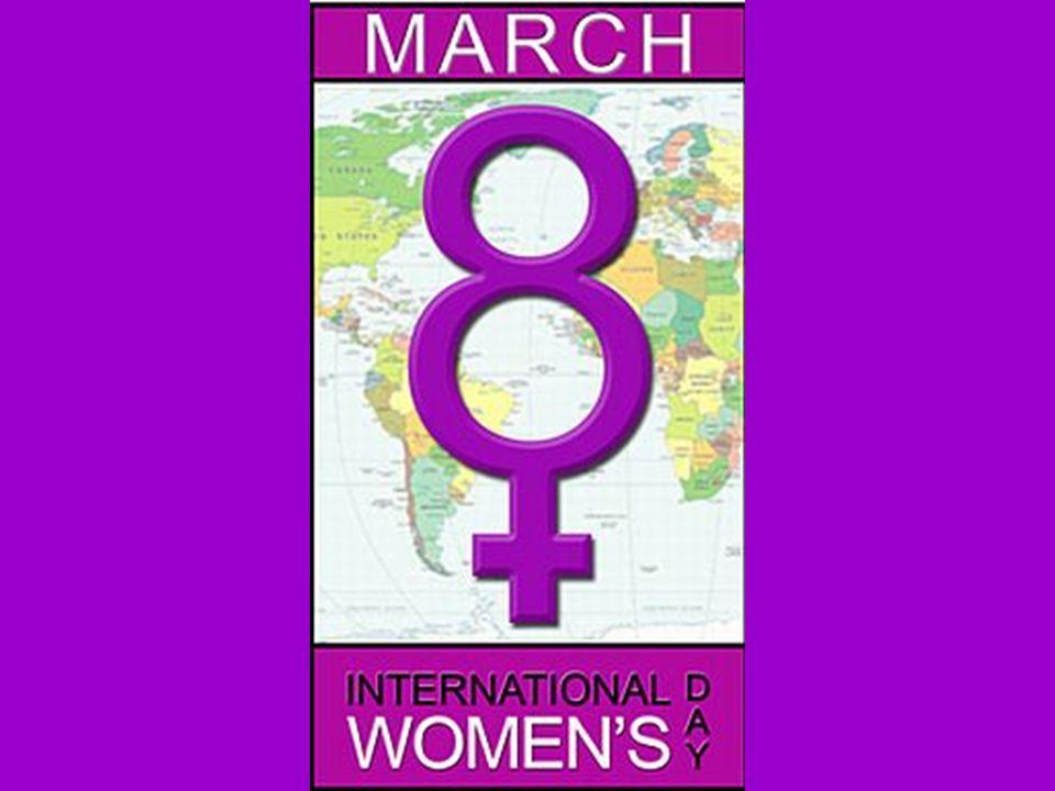 1921 wurde der Internationale Frauentag auf den 8.
