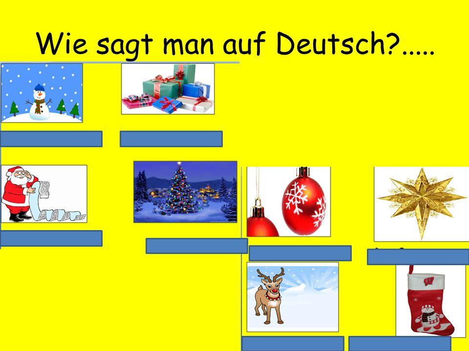 Wie sagt man auf Deutsch?.....