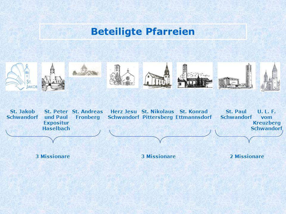 St. Peter und Paul Expositur Haselbach Herz Jesu Schwandorf U.