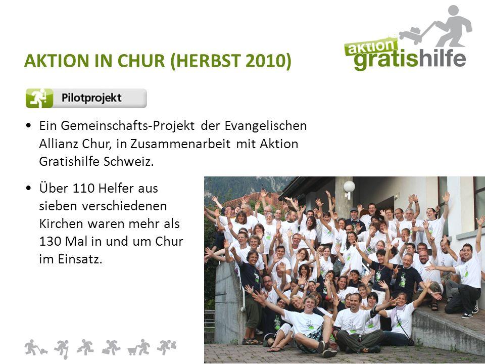 WWW.AKTIONGRATISHILFE.CH Ein Gemeinschafts-Projekt der Evangelischen Allianz Chur, in Zusammenarbeit mit Aktion Gratishilfe Schweiz.