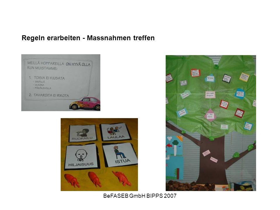 BeFASEB GmbH BIPPS 2007 Peer-Lernen Kinder lernen voneinander Sich wohl fühlen mit andern Kindern Lebensschule, alltägliches Verhalten üben Zusammensein mit andern Kindern lernen Neue Freundschaften schliessen…
