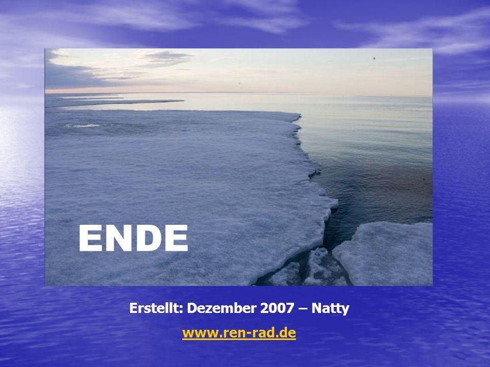 ENDE Erstellt: Dezember 2007 – Natty www.ren-rad.de