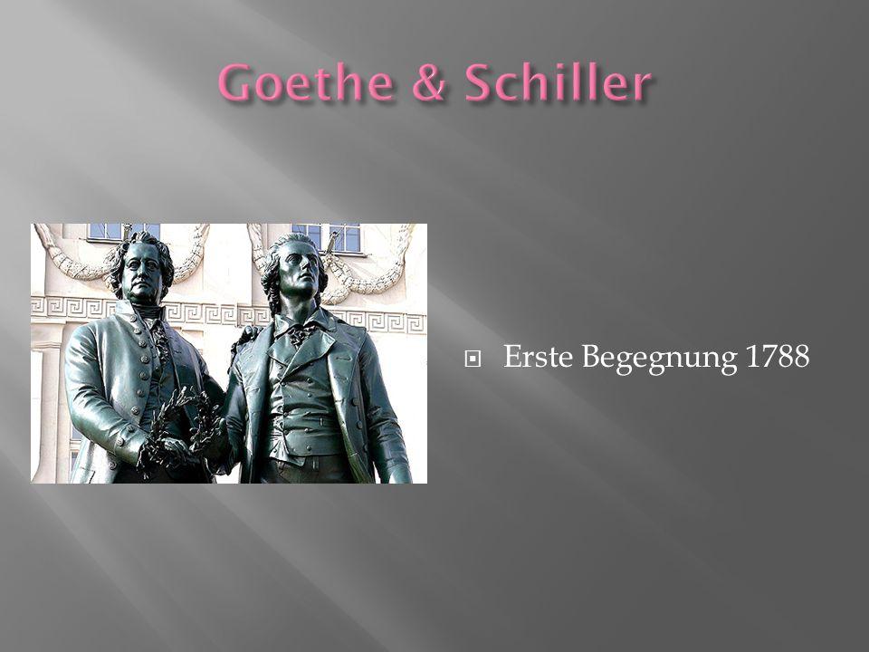 Erste Begegnung 1788