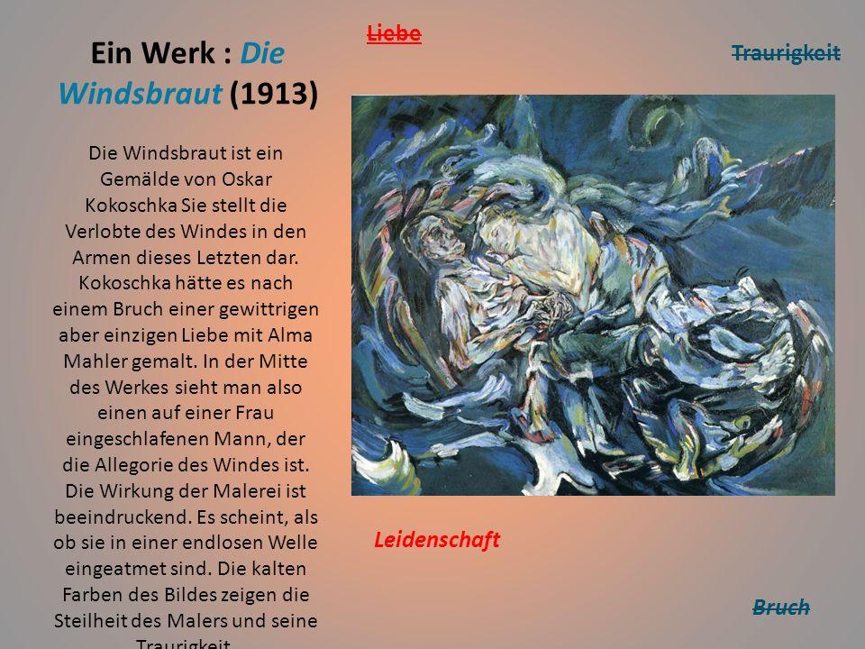 Idee, Botschaft - Merkmale Josef Scharl, Straβenszene, 1930 Die Expressionisten wollten den Betrachter ihrer Kunst emotional bewegen und innerlich ans