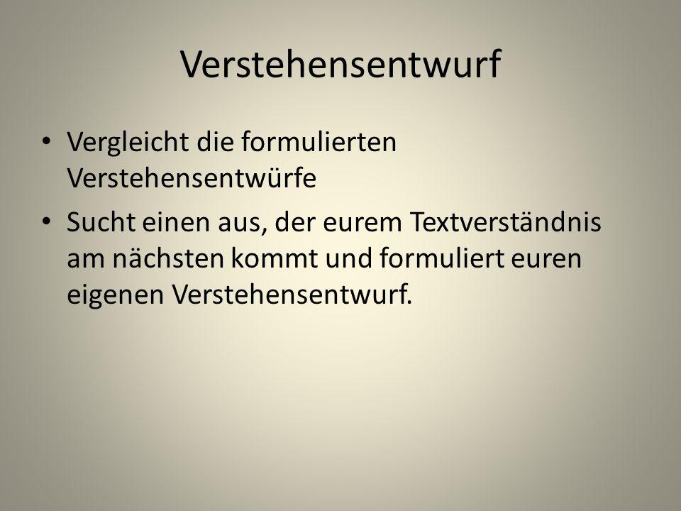 Textanalyse einzelnen inhaltlichen Aussagen Aufbau und Zusammenhang dieser Aussagen Art und Weise ihrer Formulierung (z.B.