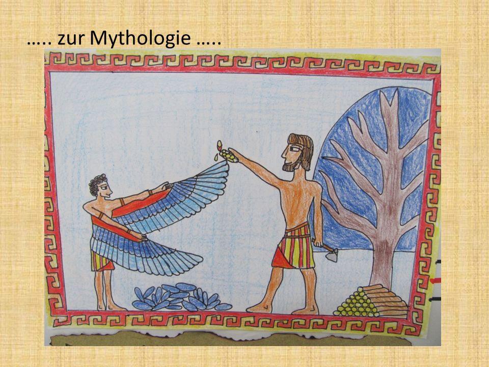 …. und zur Geschichte der griechisch-römischen Antike