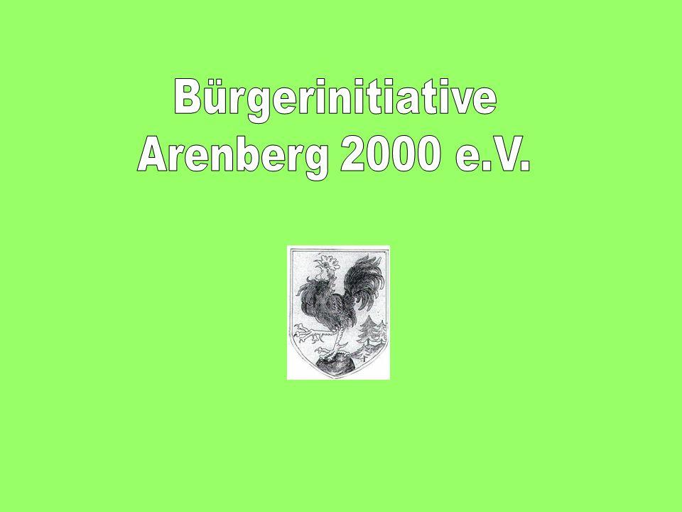Liebe Bürgerinnen und Bürger in Arenberg.