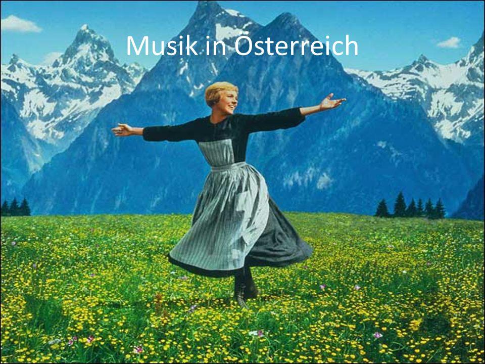 Gliederung Eine Kurzübersicht Die Geschichte der Österreichischen Musik Musik Aktuell Festspiele Krocha Hymne Übungen