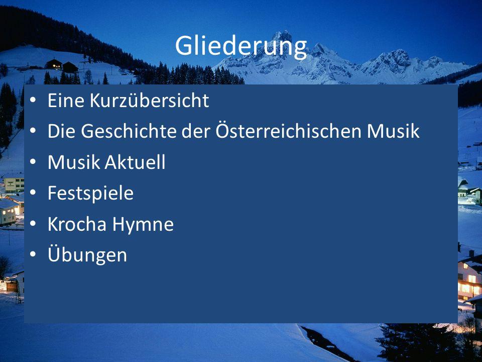 Eine Kurzübersicht Wien Die Wiener Schule: Joseph Haydn, Wolfgang Amadeus Mozart, Ludwig van Beethoven.