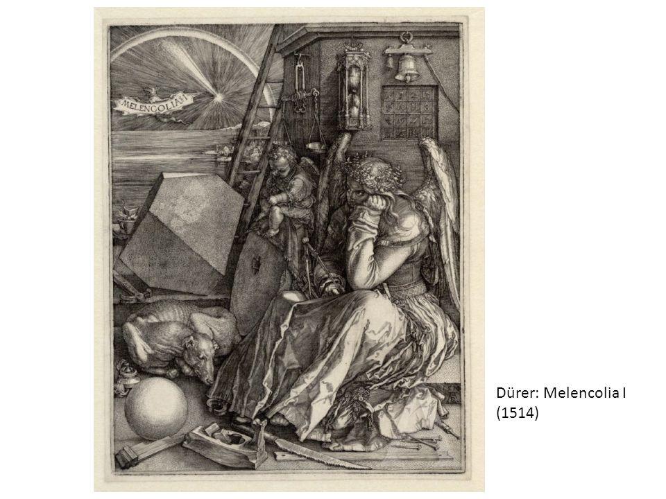 Dürer: Melencolia I (1514)