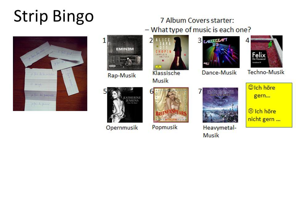 Strip Bingo