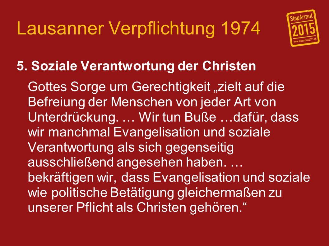 Lausanner Verpflichtung 1974 5.