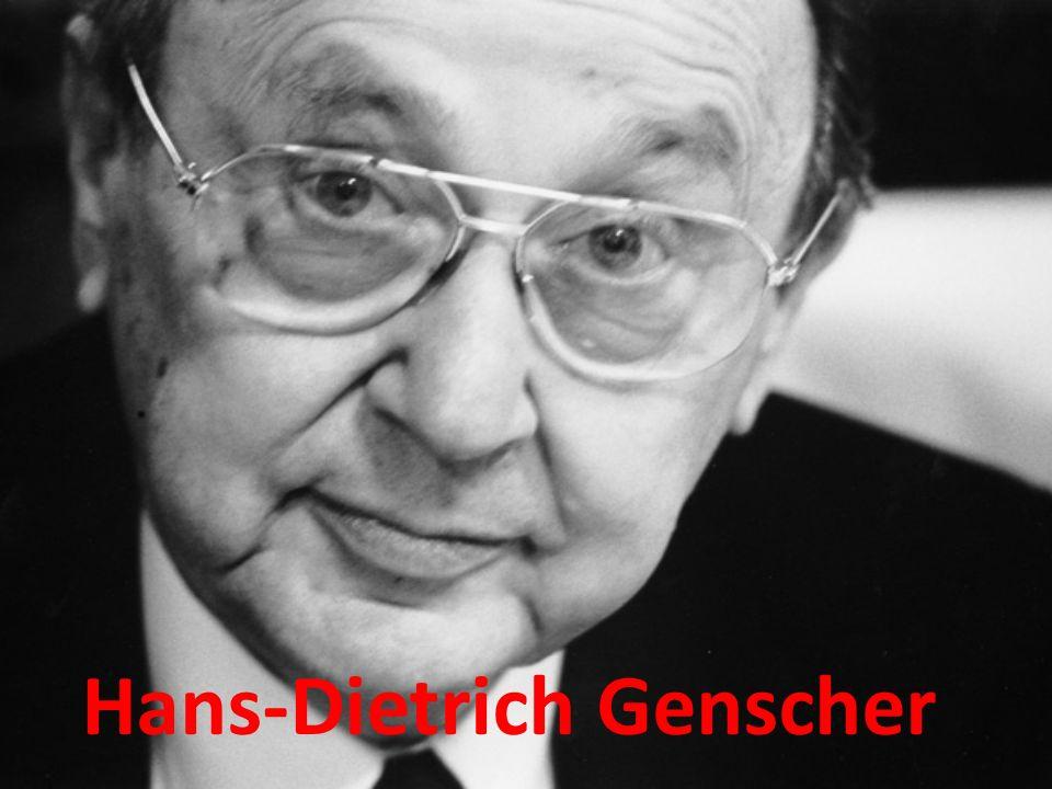 Allgemein 21.März.1927 in Reideberg geboren (Saale) Deutscher Politiker 1969-1974 Bundesinnenminister 1974-1992 Bundesminister und stellv.