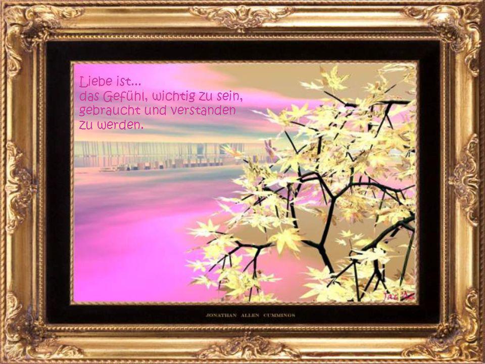 Liebe ist... Dinge zu tun, die der Verstand nicht versteht.