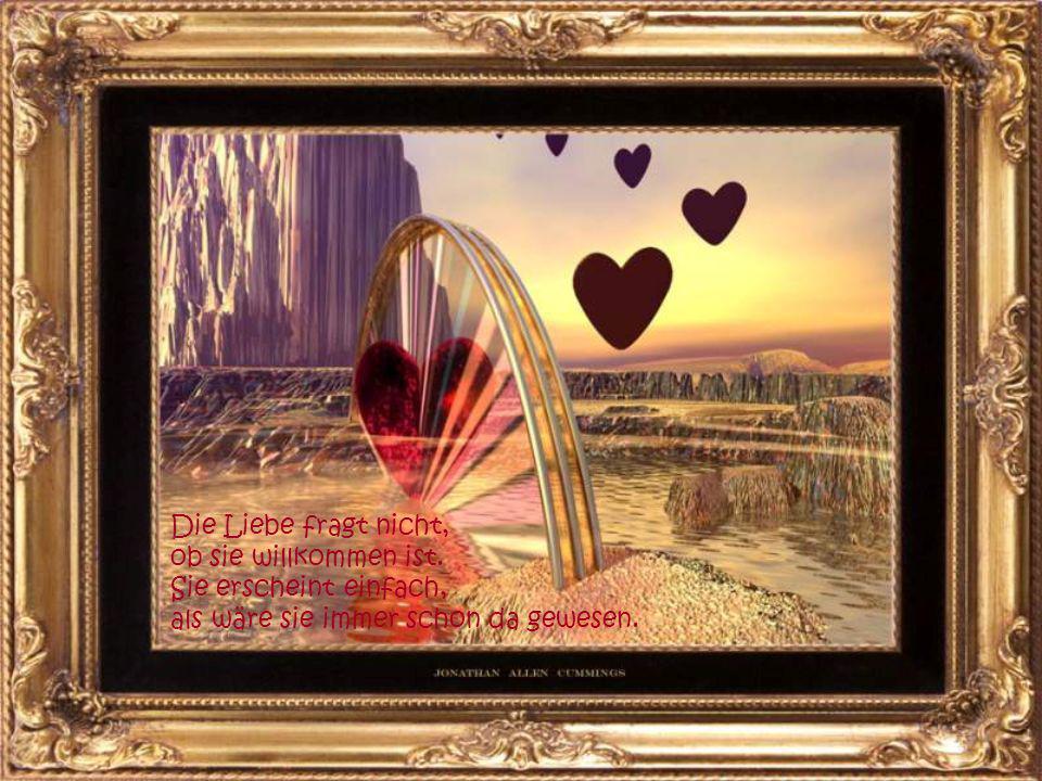 Liebe ist... Glück, nichts anderes. Wer lieben kann ist glücklich.