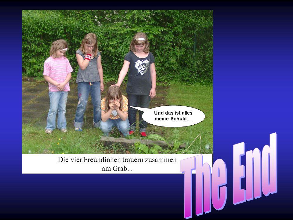 Die vier Freundinnen trauern zusammen am Grab... Und das ist alles meine Schuld....
