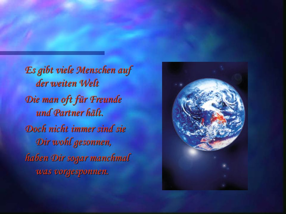 Für eine liebe Freundin... Ein Gedicht für meine Internetfreundin Ines