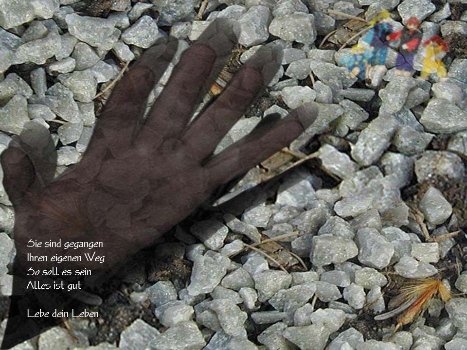 Ein Herz aus Stein Gib dein Bestes Mach sie glücklich Liebe sie Steh ihnen bei Lebe für sie